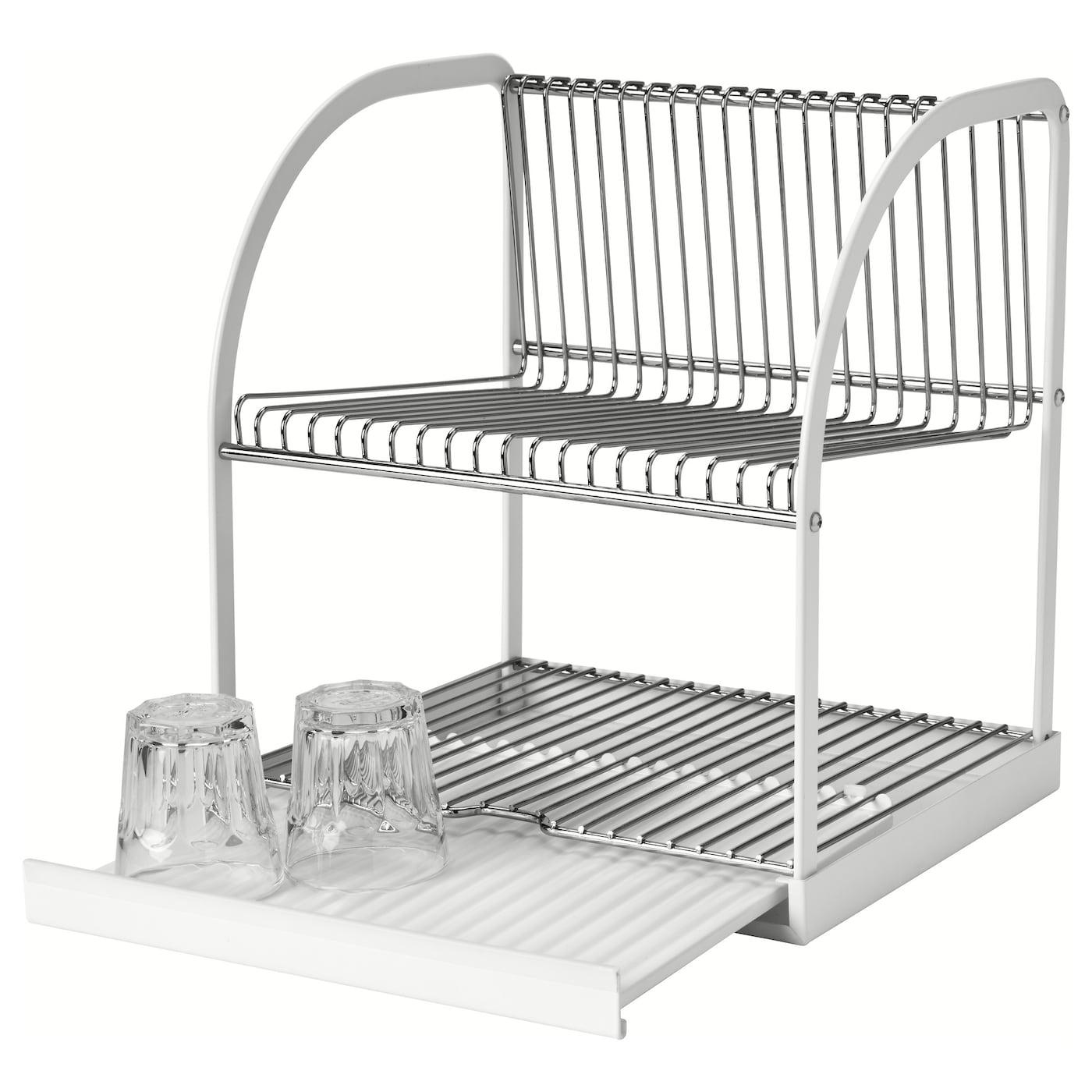 best ende gouttoir vaisselle couleur argent blanc 32x29x36 cm ikea. Black Bedroom Furniture Sets. Home Design Ideas
