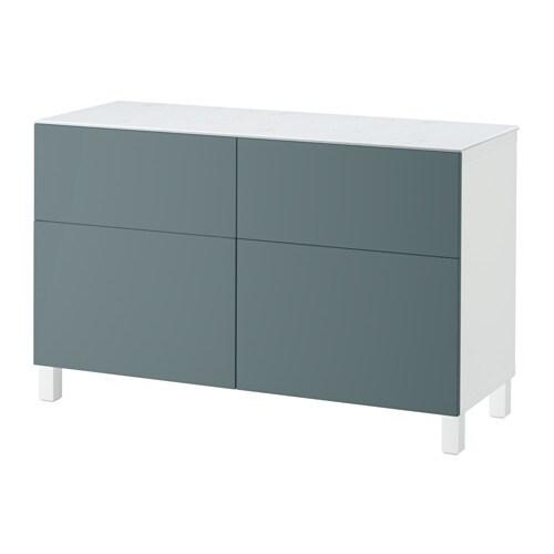 best combi rgt portes tiroirs blanc valviken gris. Black Bedroom Furniture Sets. Home Design Ideas