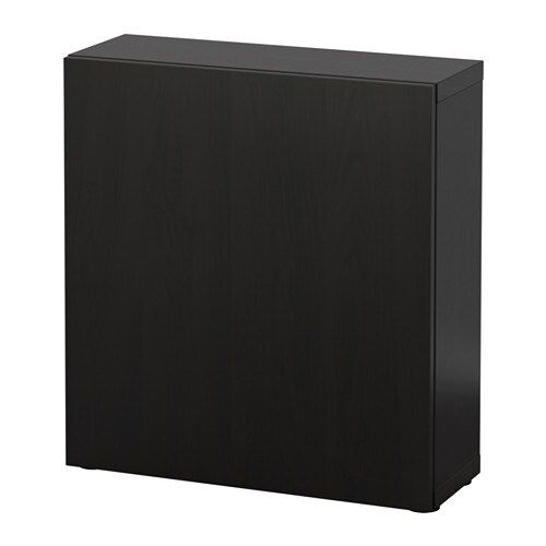 best tag re avec porte lappviken brun noir ikea. Black Bedroom Furniture Sets. Home Design Ideas