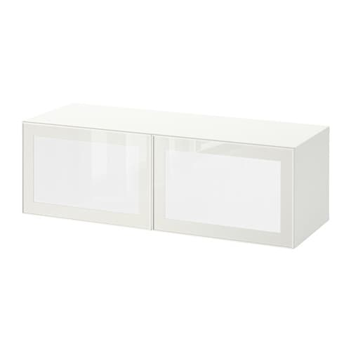 best surte tag re avec porte led blanc blanc ikea. Black Bedroom Furniture Sets. Home Design Ideas