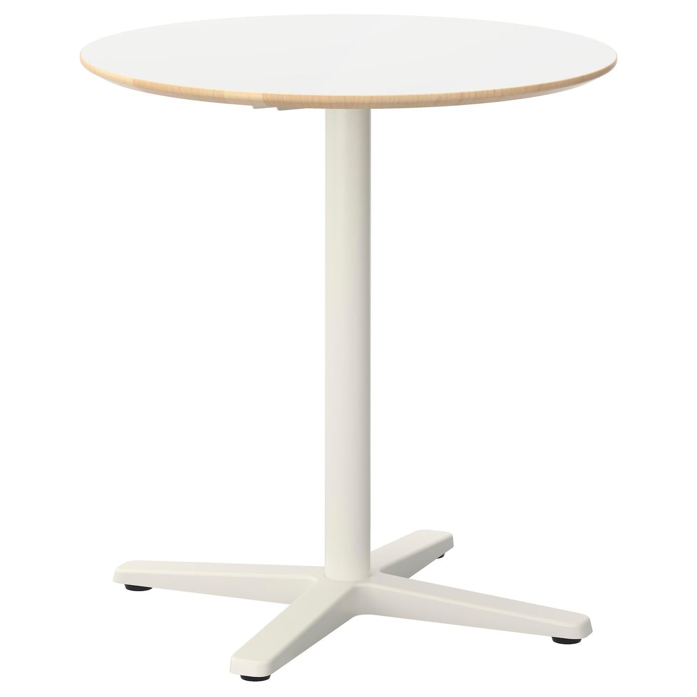 Billsta table blanc blanc 70 cm ikea for Ikea table blanc
