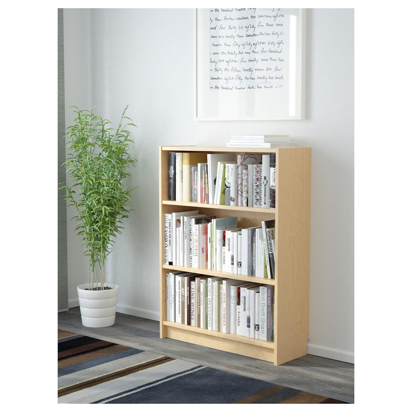 billy biblioth que plaqu bouleau 80 x 28 x 106 cm ikea. Black Bedroom Furniture Sets. Home Design Ideas