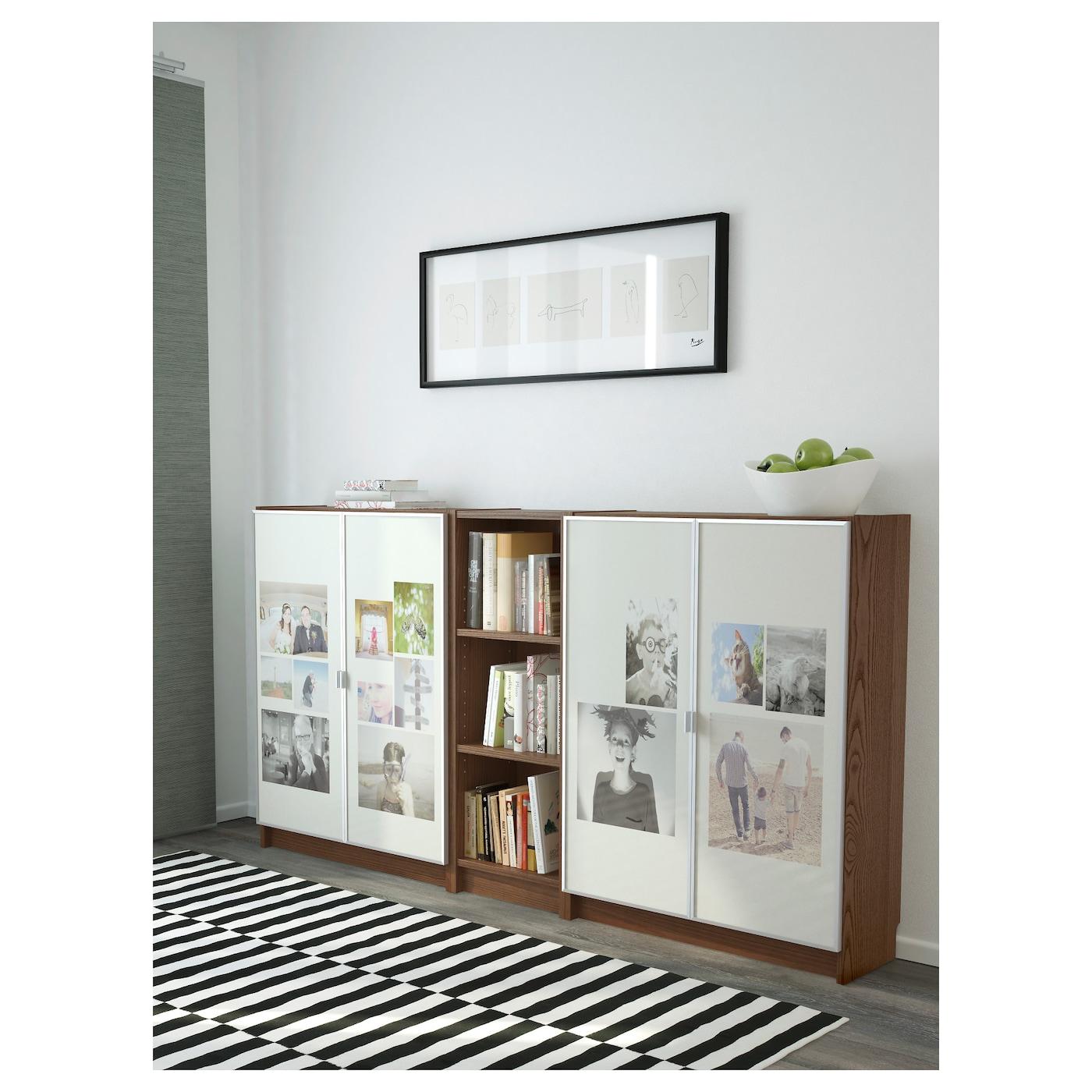 billy morliden biblioth que brun plaqu fr ne 200 x 106 x 30 cm ikea. Black Bedroom Furniture Sets. Home Design Ideas