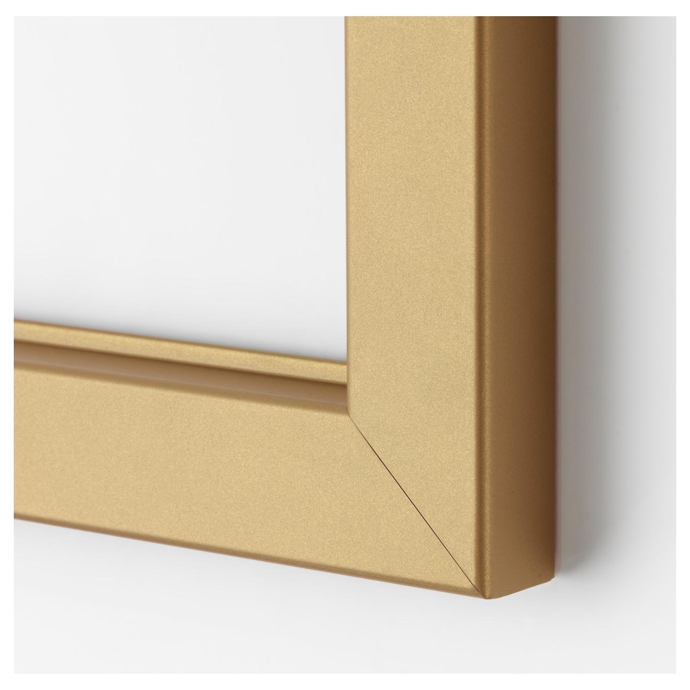 Bj rksta cadre couleur laiton 140x100 cm ikea for Cadres sans cadre ikea