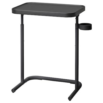 BJÖRKÅSEN Table pour ordinateur portable, anthracite
