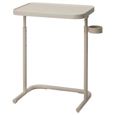 BJÖRKÅSEN Table pour ordinateur portable, beige
