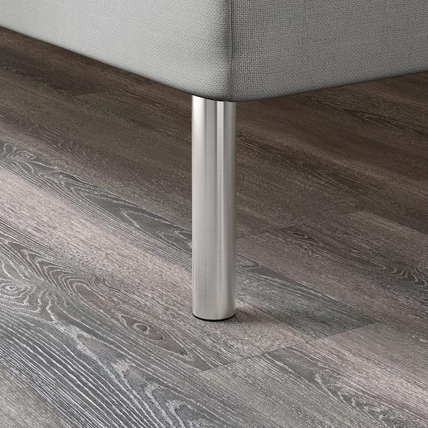 BJORLI Pied, acier inoxydable, 20 cm