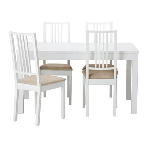 Bjursta b rje table et 4 chaises ikea - Ensemble salle a manger ikea ...
