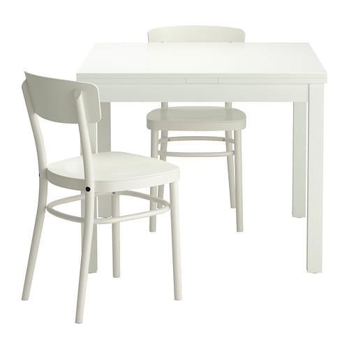 Bjursta idolf table et 2 chaises ikea - Ensemble salle a manger ikea ...