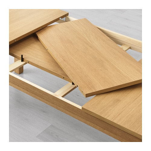 Bjursta table extensible chene for Table console extensible chene