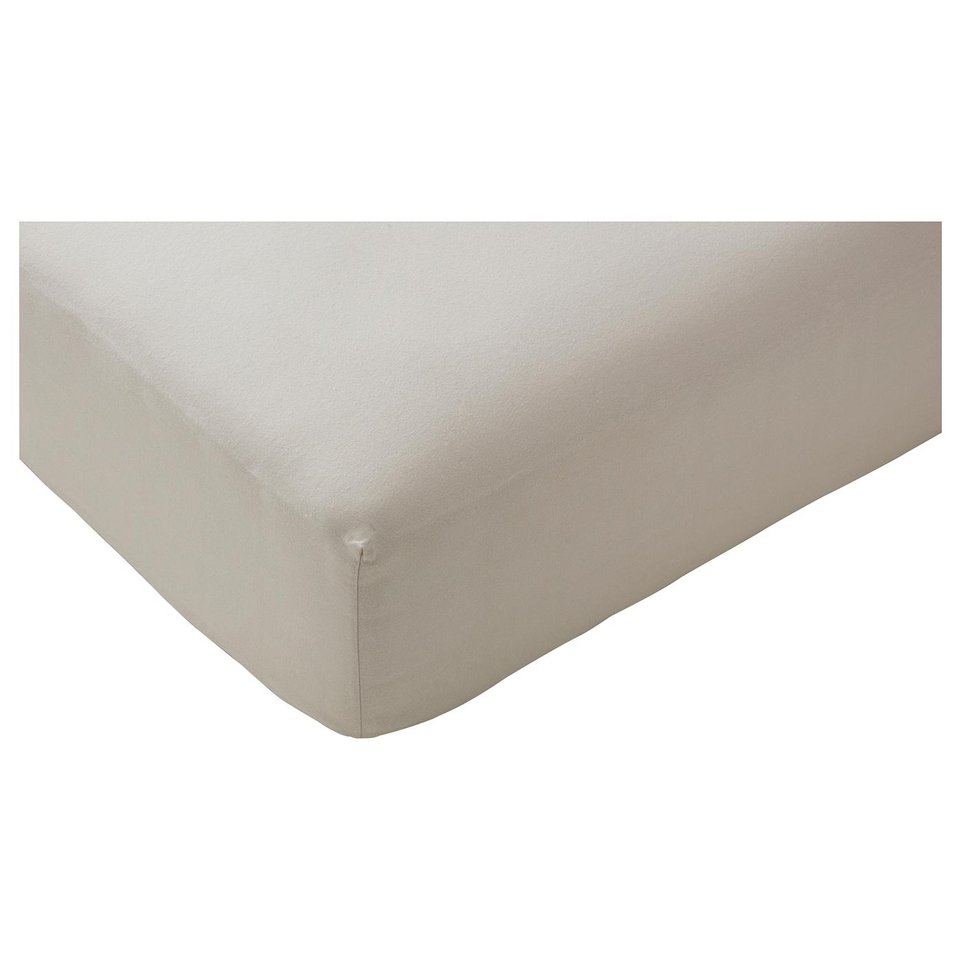 drap housse pour matelas 26 cm BLÅSUGA Drap housse Gris clair 180x200 cm   IKEA drap housse pour matelas 26 cm