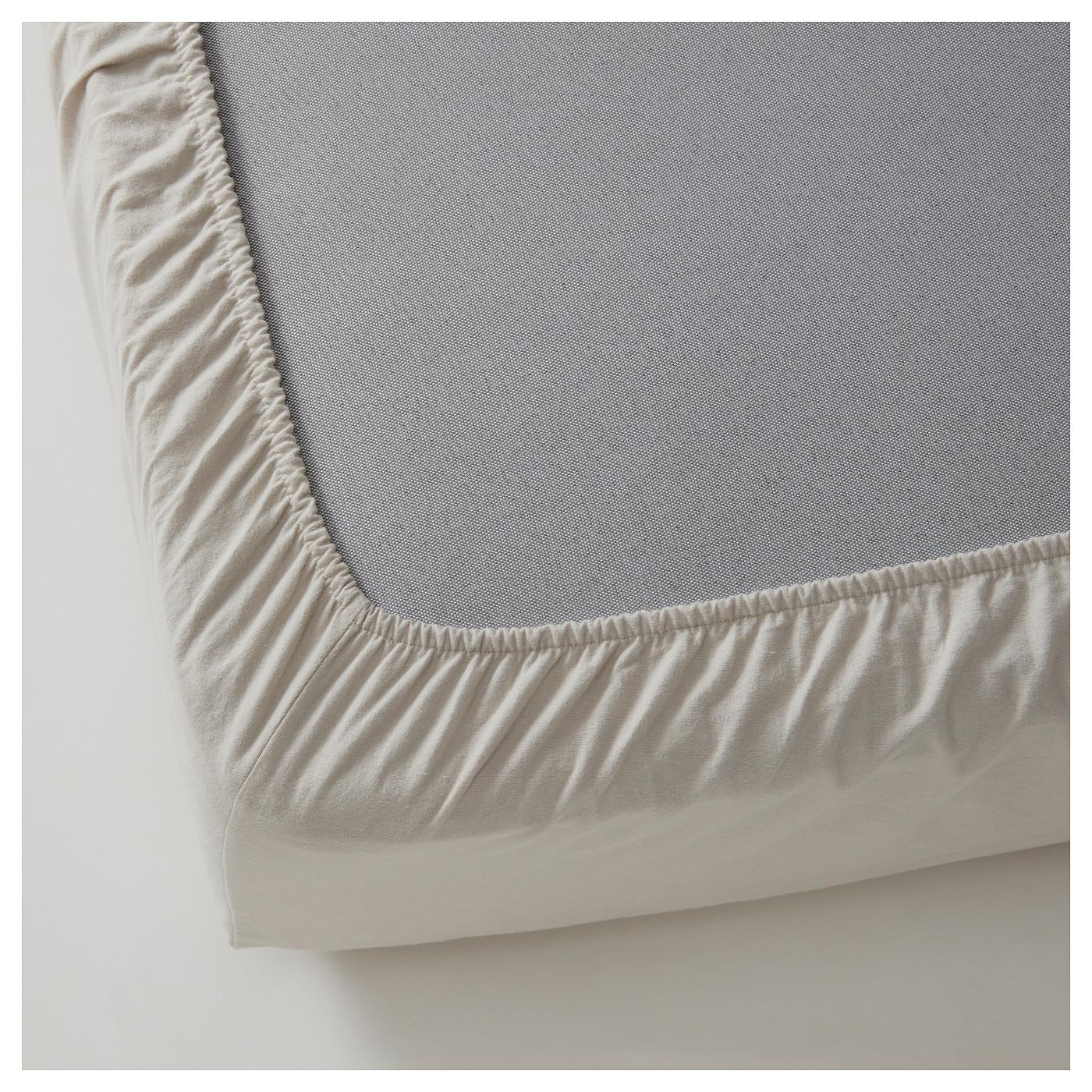 bl suga drap housse gris clair 180x200 cm ikea. Black Bedroom Furniture Sets. Home Design Ideas