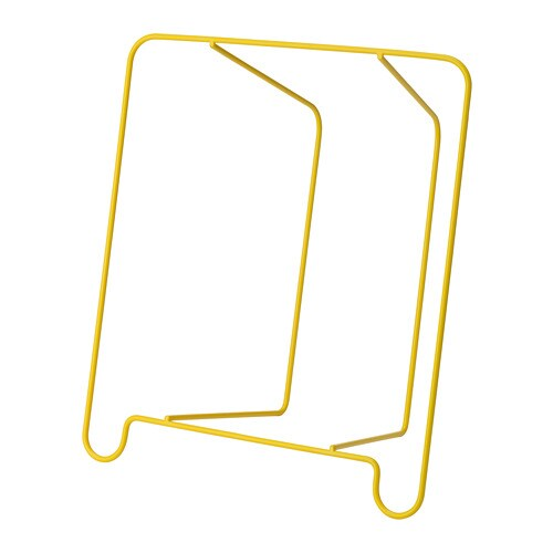 Blejd table porte revue jaune 32x18x35 cm ikea for Porte revue ikea