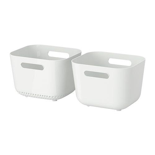 Boholmen panier vaisselle bac de rin age ikea - Ikea bac rangement plastique ...