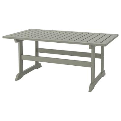 BONDHOLMEN Table basse, extérieur, gris, 111x60 cm