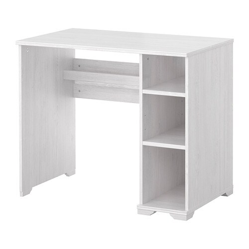 borgsj bureau blanc ikea. Black Bedroom Furniture Sets. Home Design Ideas