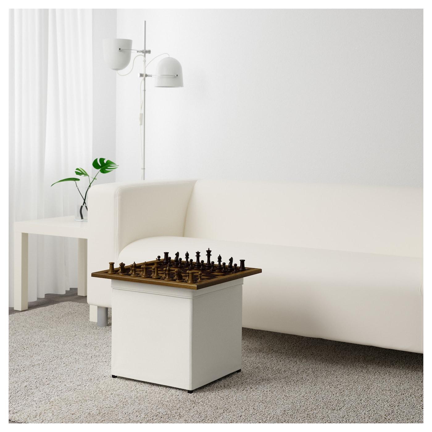 bosn s repose pieds av rangement ransta blanc ikea. Black Bedroom Furniture Sets. Home Design Ideas
