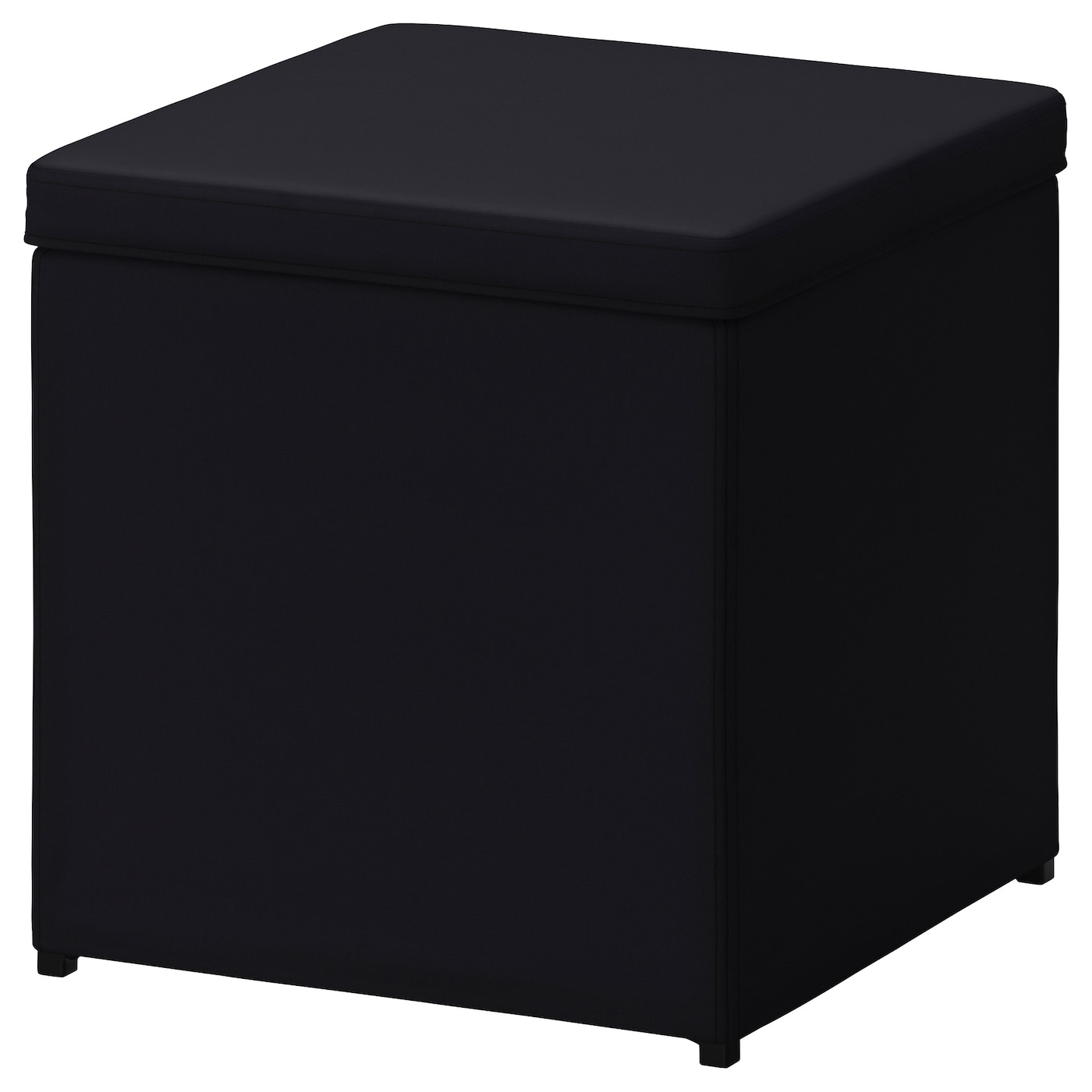 bosn s repose pieds av rangement ransta noir ikea. Black Bedroom Furniture Sets. Home Design Ideas