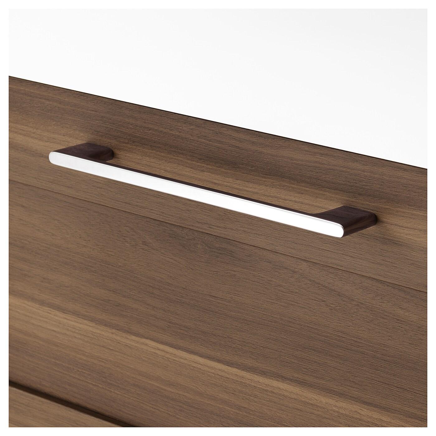 br viken godmorgon meuble lavabo 4tir motif noyer 120 x 48 x 68 cm ikea. Black Bedroom Furniture Sets. Home Design Ideas