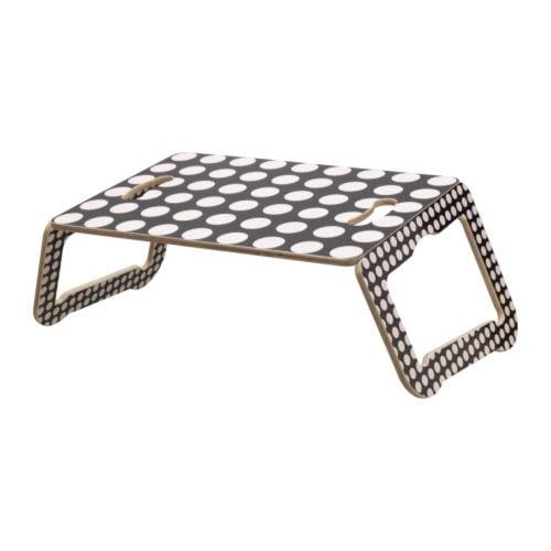 br da support ordinateur portable noir blanc ikea. Black Bedroom Furniture Sets. Home Design Ideas