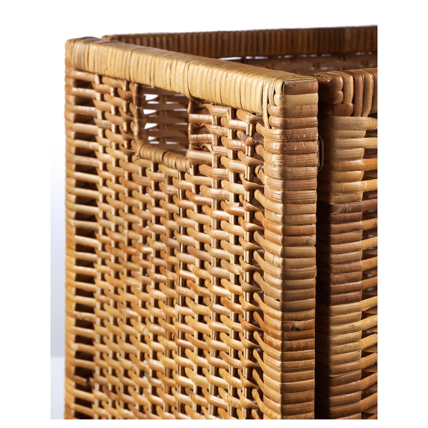 bran s panier rotin 32x34x32 cm ikea. Black Bedroom Furniture Sets. Home Design Ideas