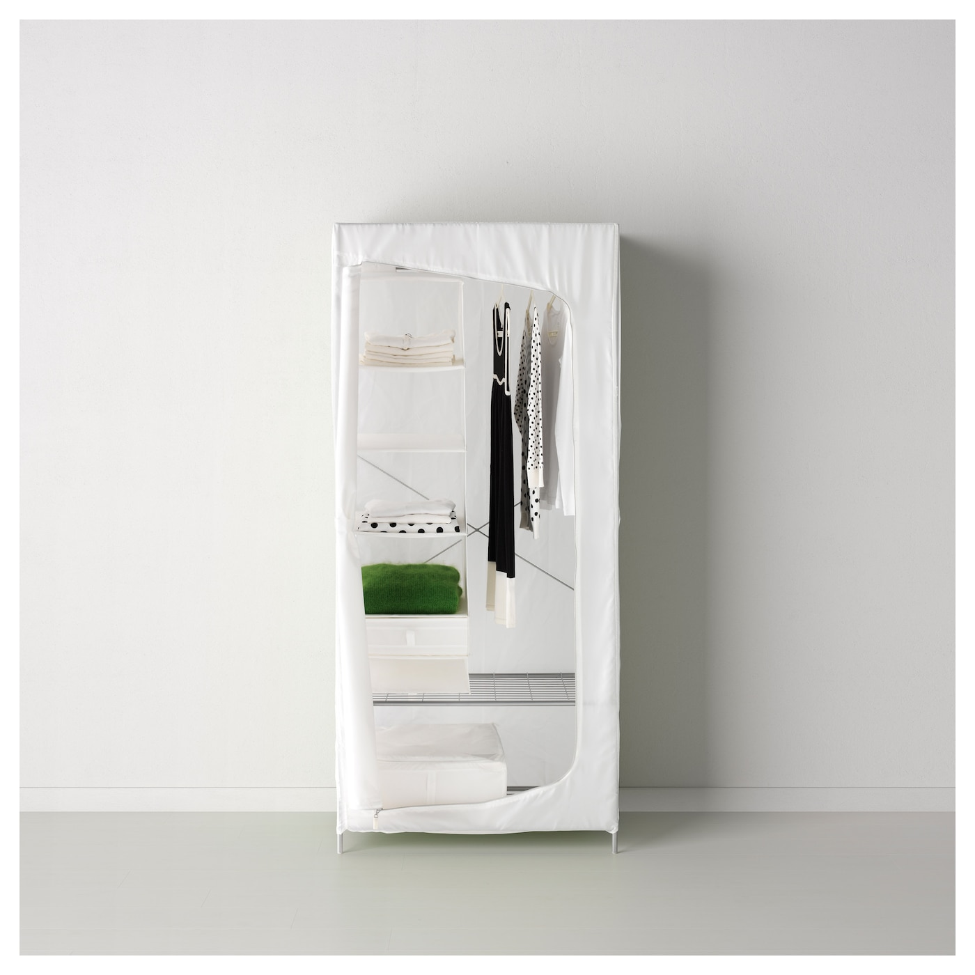 breim armoire penderie blanc 80x55x180 cm ikea. Black Bedroom Furniture Sets. Home Design Ideas