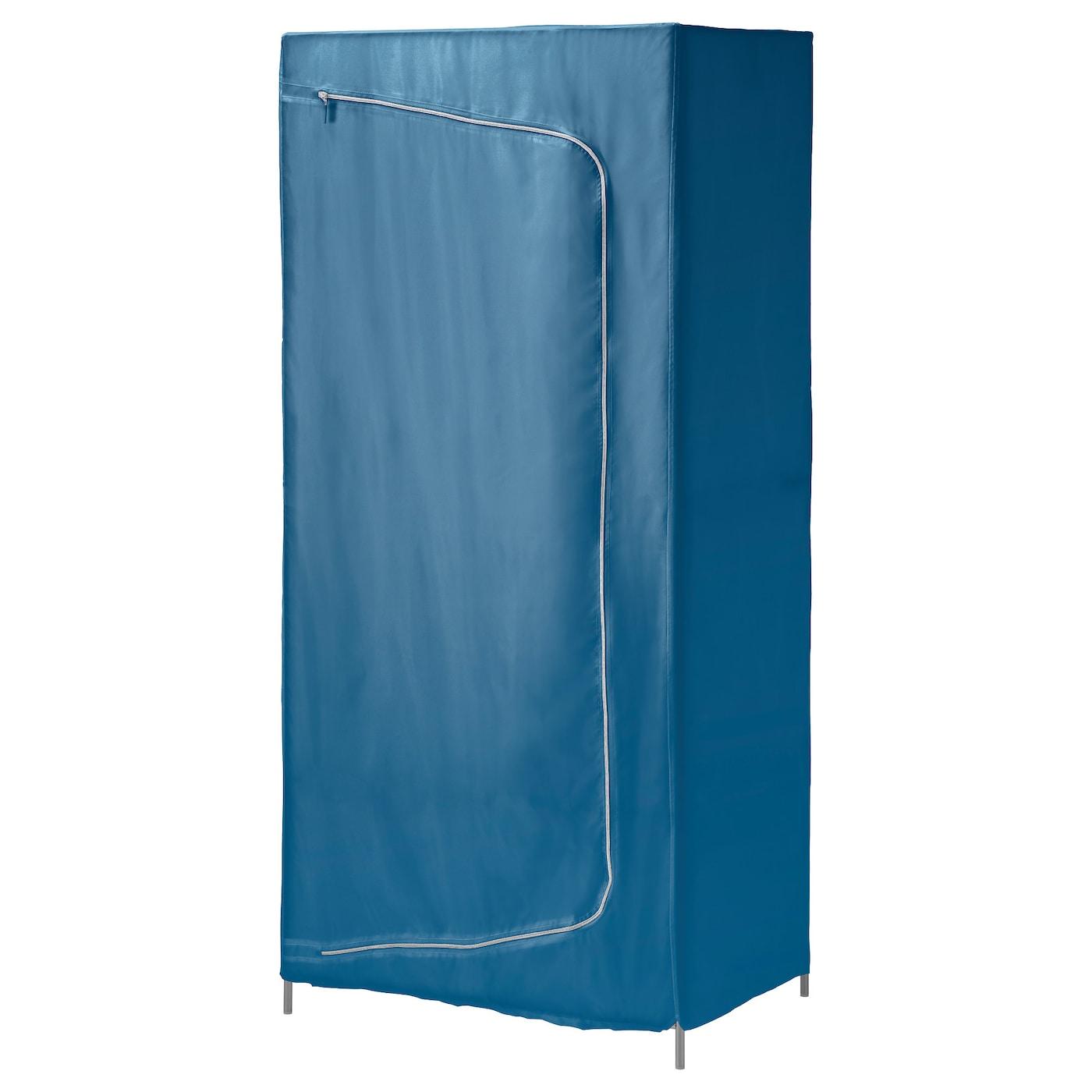 breim armoire penderie bleu 80x55x180 cm ikea. Black Bedroom Furniture Sets. Home Design Ideas