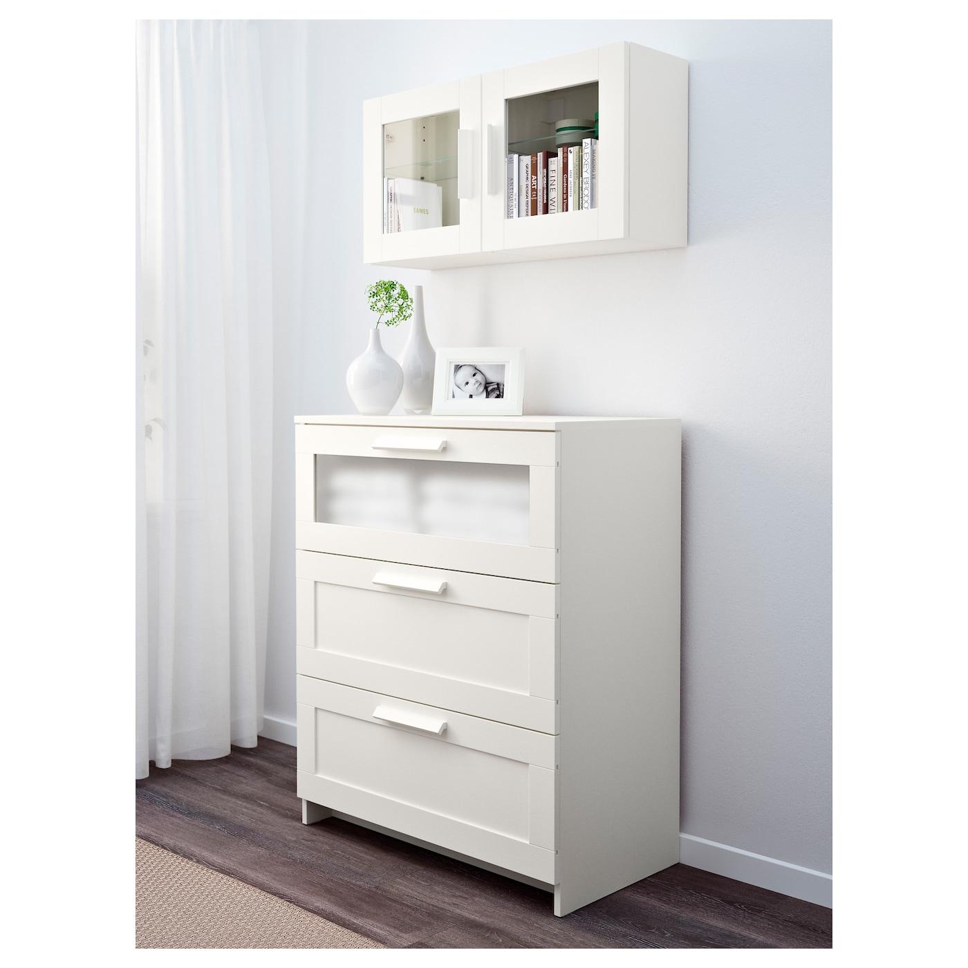 brimnes l ment mural porte vitr e blanc 39x39 cm ikea. Black Bedroom Furniture Sets. Home Design Ideas