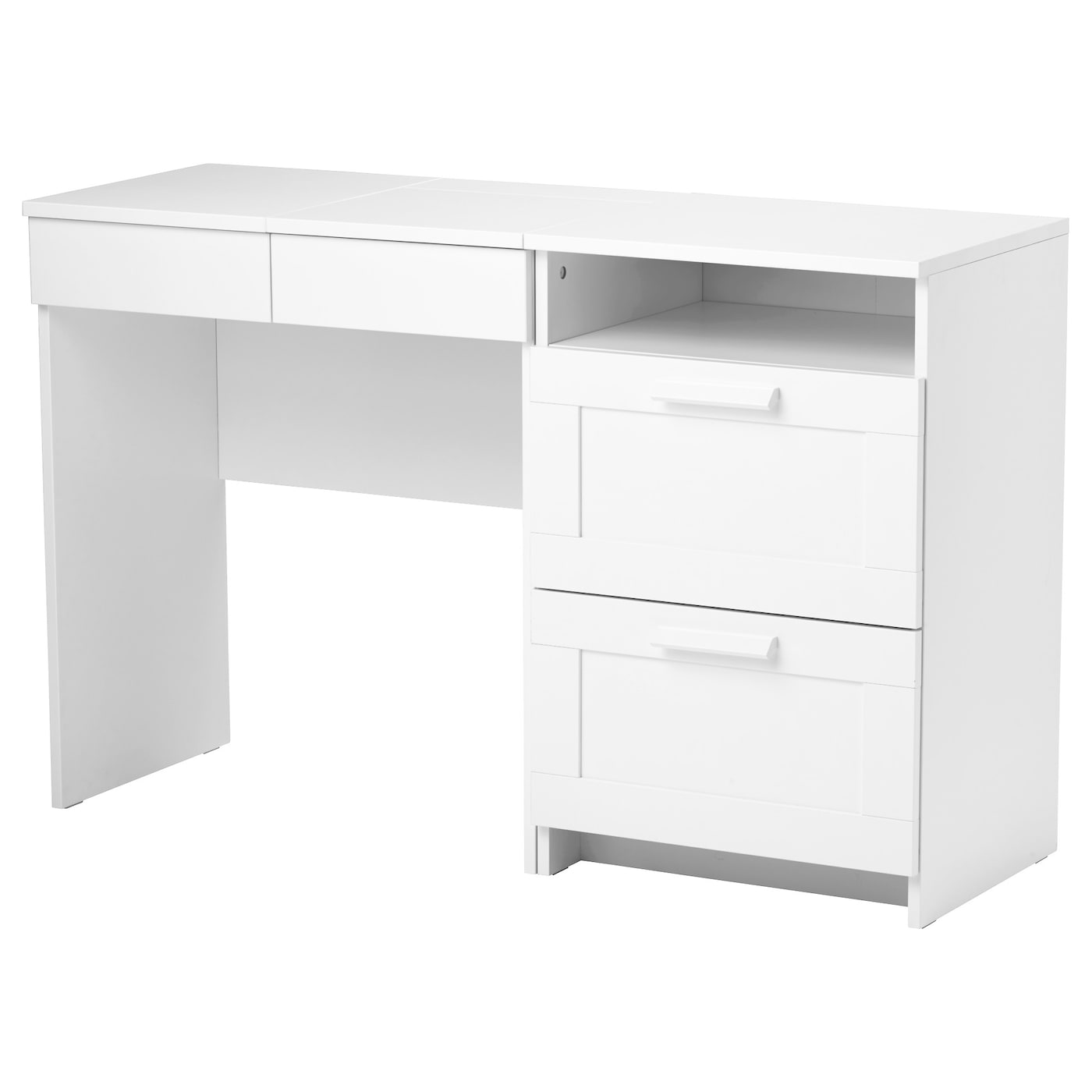 brimnes coiffeuse commode 2 tiroirs blanc ikea. Black Bedroom Furniture Sets. Home Design Ideas