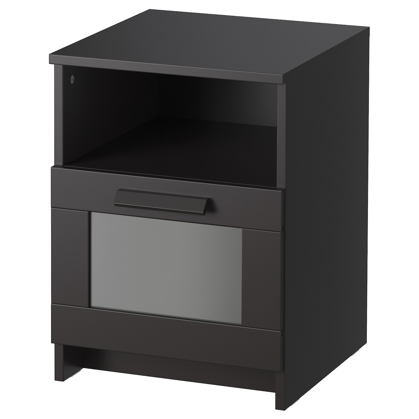 brimnes table de chevet noir 39 x 41 cm ikea. Black Bedroom Furniture Sets. Home Design Ideas