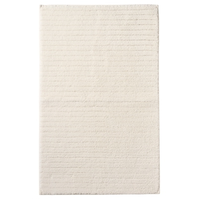 BRINASEN Tapis de bain, blanc, 50x80 cm