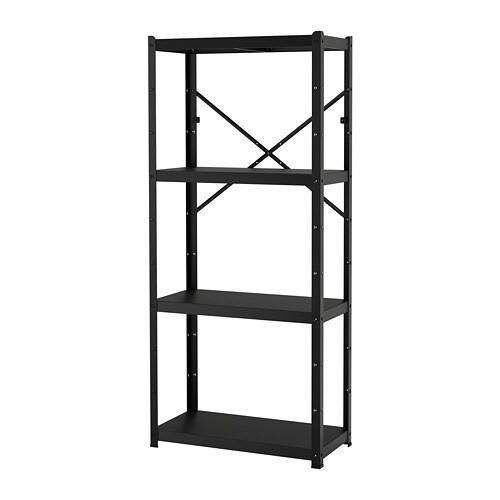 Bror étagère Noir 85 X 40 X 190 Cm Ikea
