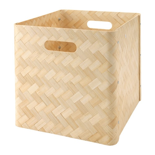 BULLIG Boîte Bambou 32x35x33 cm - IKEA