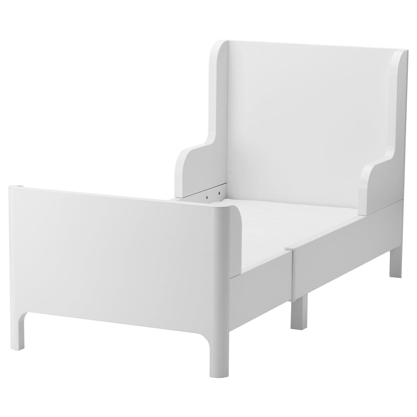 busunge lit extensible blanc 80x200 cm ikea. Black Bedroom Furniture Sets. Home Design Ideas
