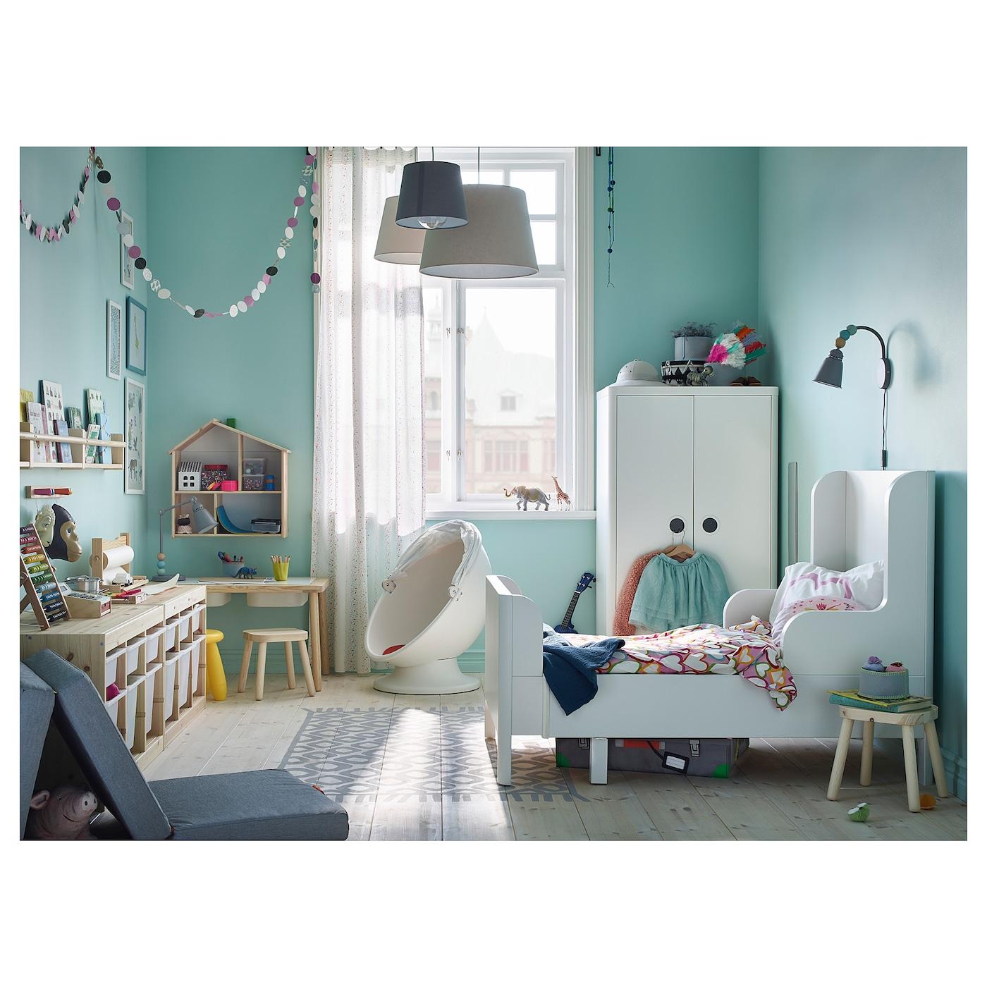 Busunge Lit Extensible Blanc 80 X 200 Cm Ikea