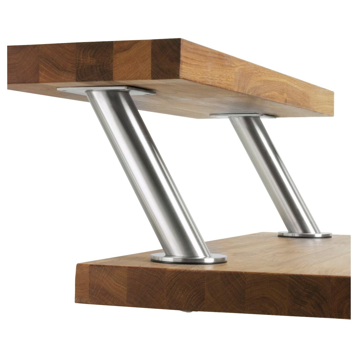 capita console acier inoxydable ikea. Black Bedroom Furniture Sets. Home Design Ideas