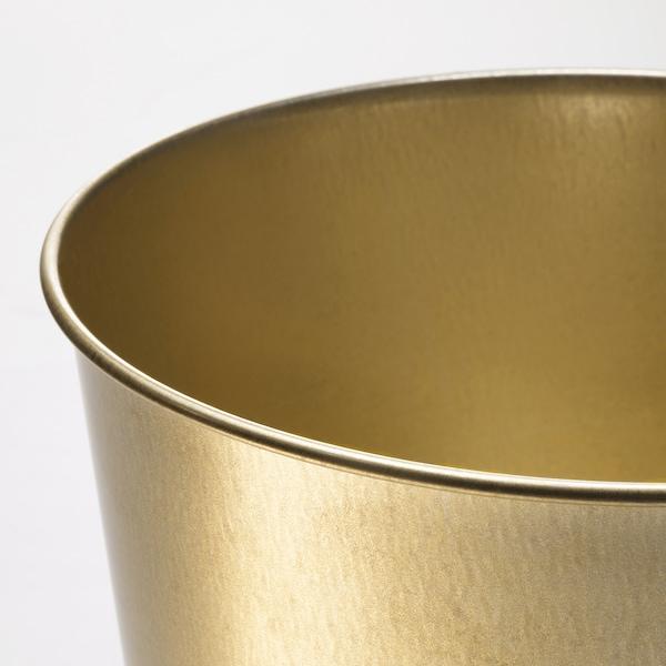 DAIDAI Cache-pot, couleur laiton, 19 cm