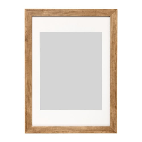 dalsk rr cadre effet bois brun clair 50 x 70 cm ikea. Black Bedroom Furniture Sets. Home Design Ideas