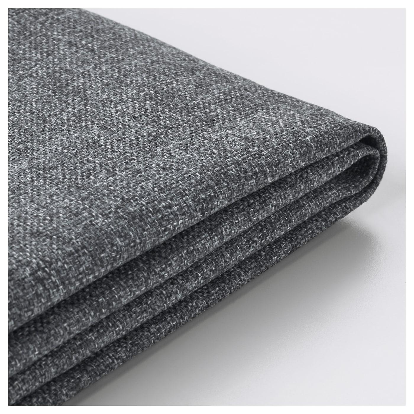 delaktig housse pour dossier coussin gunnared gris moyen ikea. Black Bedroom Furniture Sets. Home Design Ideas