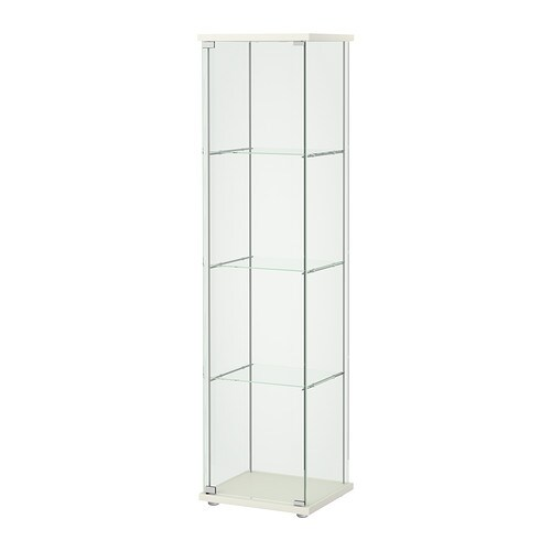 detolf vitrine blanc 43x163 cm ikea. Black Bedroom Furniture Sets. Home Design Ideas