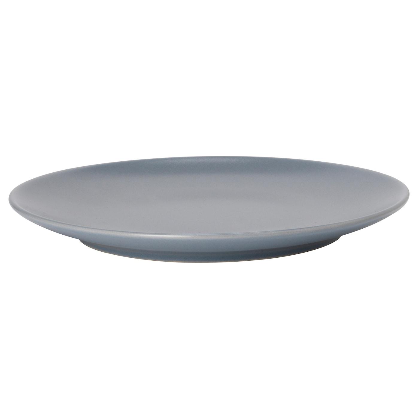 Dinera assiette bleu gris 26 cm ikea - Art de la table vaisselle ...