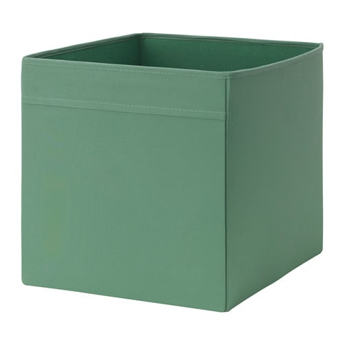 dr na rangement tissu vert fonc 33 x 38 x 33 cm ikea. Black Bedroom Furniture Sets. Home Design Ideas