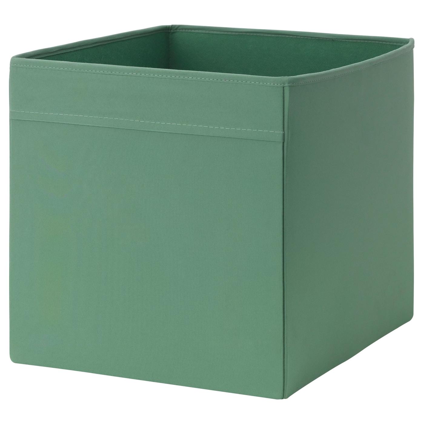 dr na rangement tissu vert fonc 33x38x33 cm ikea. Black Bedroom Furniture Sets. Home Design Ideas