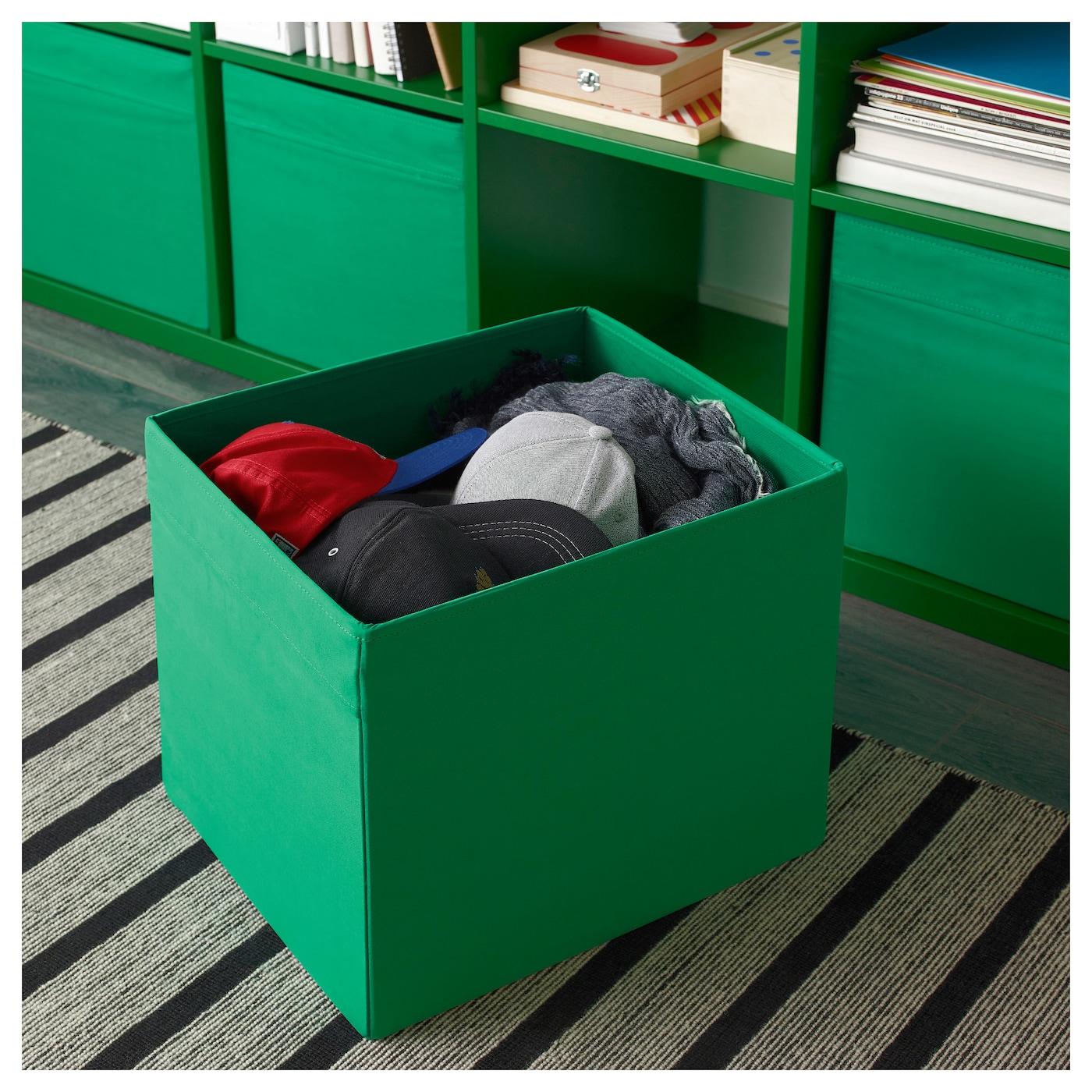 dr na rangement tissu vert 33x38x33 cm ikea. Black Bedroom Furniture Sets. Home Design Ideas