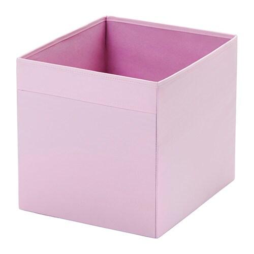 Dr na rangement tissu rose clair ikea - Ikea panier de rangement ...