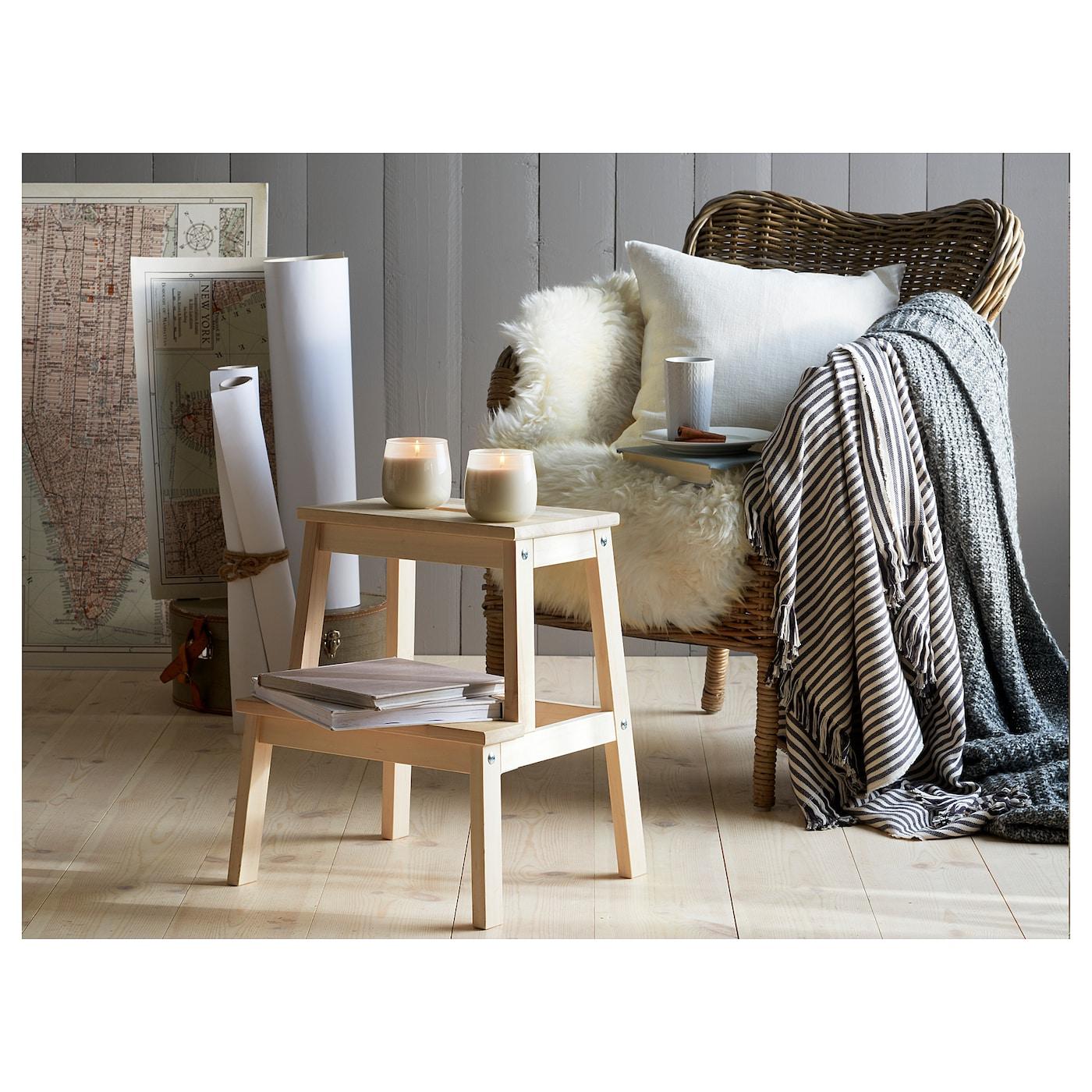 dun ng plaid gris 130x180 cm ikea. Black Bedroom Furniture Sets. Home Design Ideas