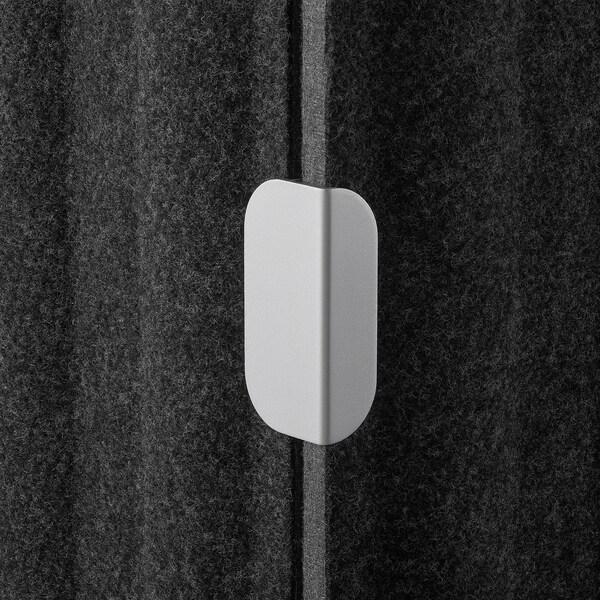 EILIF Séparateur indépendant, gris foncé, 80x150 cm