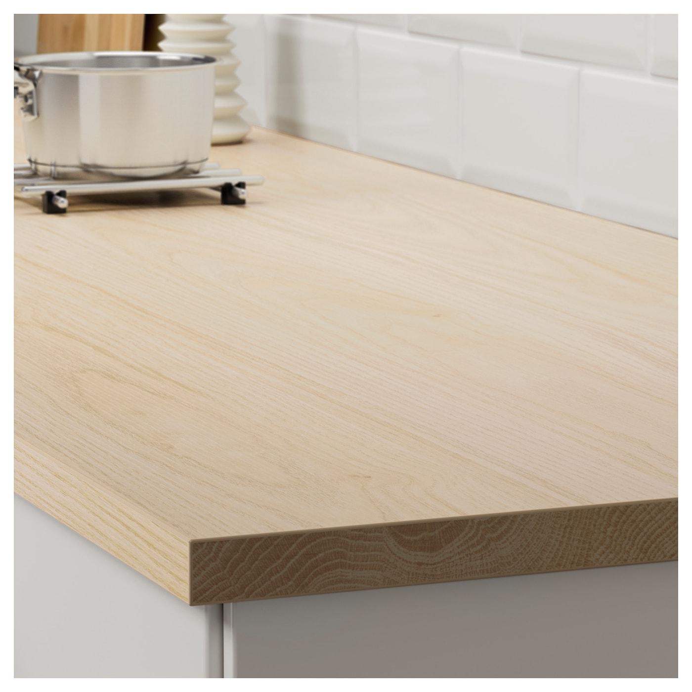 ekbacken plan de travail sur mesure d cor fr ne stratifi 63 6 125x2 8 cm ikea. Black Bedroom Furniture Sets. Home Design Ideas