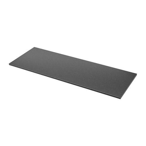 ekbacken plan de travail sur mesure noir motif pierre. Black Bedroom Furniture Sets. Home Design Ideas