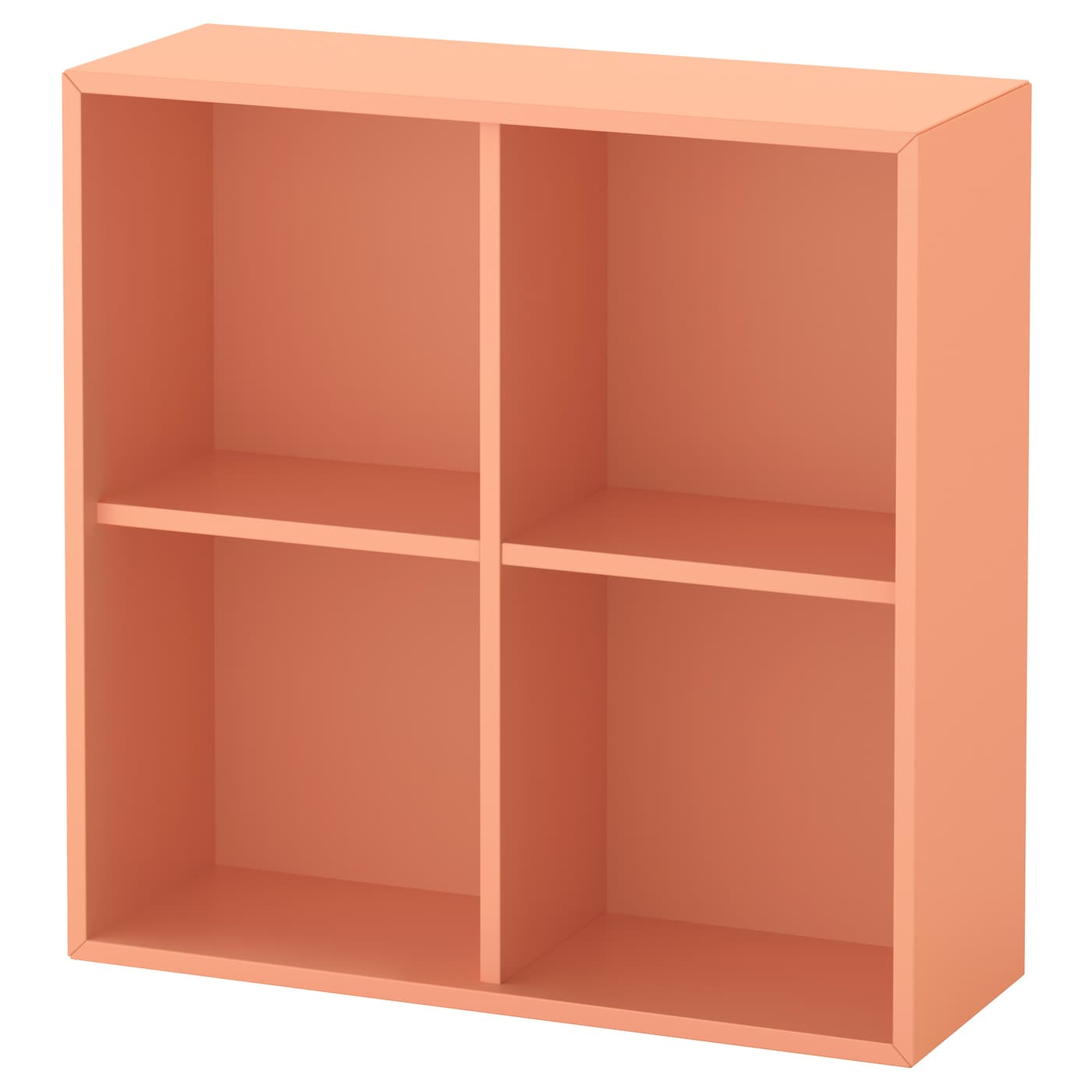 eket rangement 4 compartiments orange clair 70 x 25 x 70 cm ikea. Black Bedroom Furniture Sets. Home Design Ideas